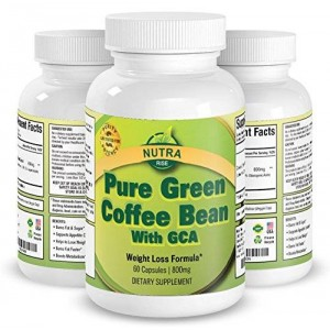 Nutra Rise 100% Pure Green Coffee Bean Extract