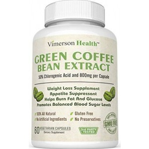 Vimerson Health Green Coffee Bean Extract 100% All Natural