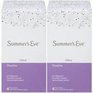 Summer's Eve Douche with Ultra Cleansing Formula, 4.5 Ounce Bottles (Pack of 8 Bottles)