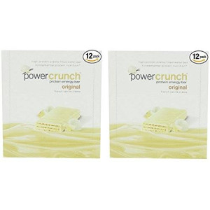 Power Crunch Protein Energy Bar Orignal, French Vanilla Creme, 1.4-Ounce Bar (2 Pack of 12 count)