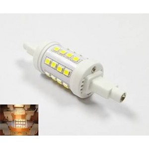 La Farah™ J Type 78mm Double Ended Halogen Bulb Replacement R7s Base LED Light Bulb 5 Watt 500 Lumens ---3000k Warm White