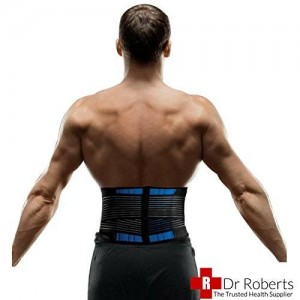 Dr Dry Dr Roberts Medical Grade  Lumbar Back Support Belt Large