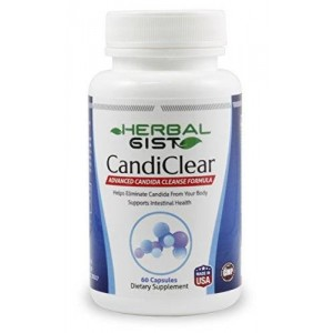 HerbalGist Best Candida Cleanse - Natural Candida Complex for Yeast Infection
