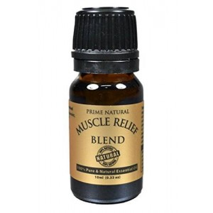 Prime Natural Muscle Relief Essential Oil Blend 10ml
