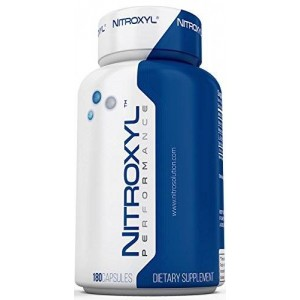 Nitrosolution Nitric Oxide Supplements Nitroxyl Performance - Nitric Oxide Booster 180 Capsules