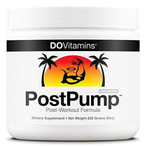 Do Vitamins PostPump - Post-Workout Recovery Formula - Certified Paleo, Certified Vegan, Non-GMO - No Artificial Sweeteners, Colors, or Flavors