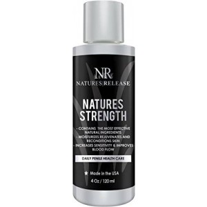 Natures Release Natures Strength 4.0 Oz - Natural Penile Health Cream - Best for dry