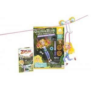 GoldieBlox Zipline Action Figure