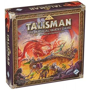 Fantasy Flight Games Talisman: The Magical Quest Game, 4th edition