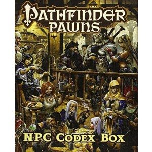 Paizo Publishing Pathfinder Roleplaying Game: NPC Codex Box (Pathfinder Pawns)