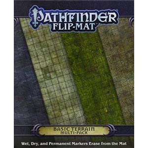 Paizo Publishing Pathfinder Flip-Mat: Basic Terrain Multi-Pack