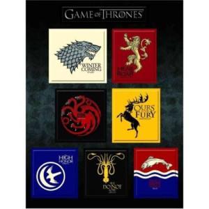 Dark Horse Game of Thrones: House Sigil Magnet Set