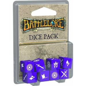 Fantasy Flight Games BattleLore Second Edition Dice Pack