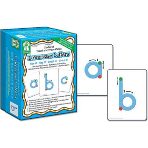 Carson-Dellosa Carson Dellosa Key Education Textured Touch and Trace: Lowercase Manipulative (846012)
