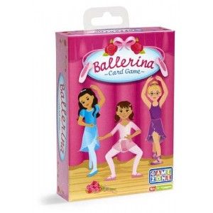 International Playthings Ballerina Card Game and Memory Match Educational Learning Game