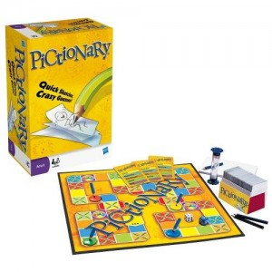 Hasbro Pictionary - The Game Of Quick Draw