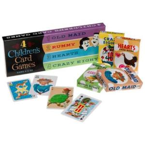 Think Fun ThinkFun 4 Children's Card Games