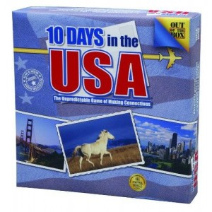 Out of the Box 10 Days In The Usa Game