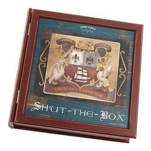 Front Porch Classics Shut the Box Bookshelf Game