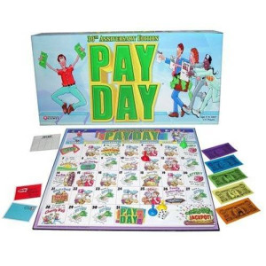 Winning Moves Pay Day Board Game (Editions may vary)