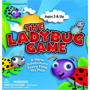 Zobmondo!! Zobmondo Entertainment The Ladybug Game