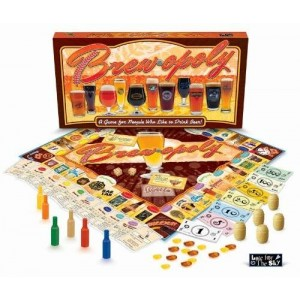 Brew-Opoly Monopoly Game by Late For The Sky
