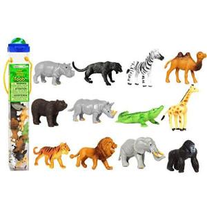 Safari Ltd. Safari Ltd Wild TOOB With 12 Great Jungle Friends