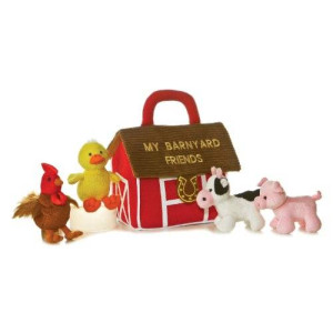Aurora World Aurora My Barnyard Friends Baby Talk Playset