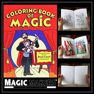Magic Makers Color Changing Book - Easy Magic Trick (Magic Coloring Book)