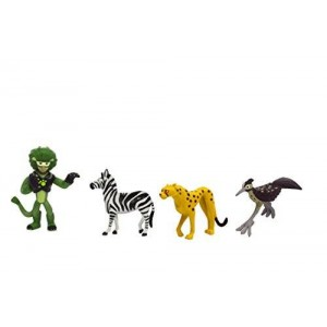 Wicked Cool Toys Wild Kratts, Activate Creature Power, Runners 4-Pack Figure Set