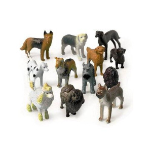 US Toy Mini Dogs (1 Dozen) - Bulk