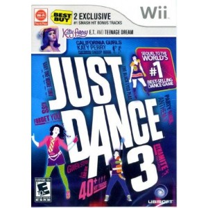 Ubisoft Just Dance 3 with Katy Perry Bonus Tracks for Wii