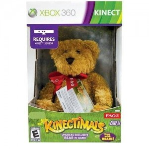 Microsoft Kinectimals Now With Bears: Bundle with FAO Schwarz Plush Bear [Limited Edition]