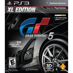 Sony PS3 Gran Turismo 5 XL Edition