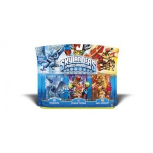 Activision Skylanders Spyro Adventure Triple Character Pack (Whirlwind, Double Trouble, Drill Sergeant)