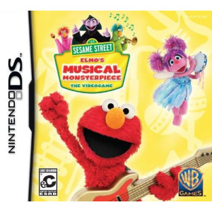 WB Games Sesame Street: Elmo's Musical Monsterpiece - Nintendo DS