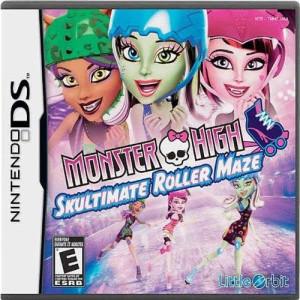 Little Orbit Monster High: Skultimate Roller Maze - Nintendo DS