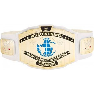 Mattel WWE Intercontinental Championship Title Belt