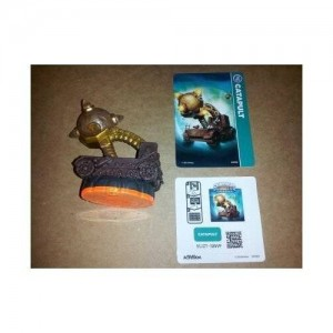 Activision Skylanders Giants LOOSE Figure Catapult - Includes Card Online Code