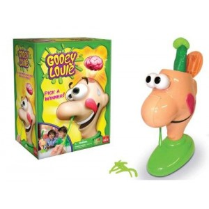 Goliath Games Gooey Louie - Pull the Gooey Boogers Out Until His Head Pops Open Game