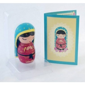 Shining Light Dolls Our Lady of Guadalupe Collectible Vinyl Doll