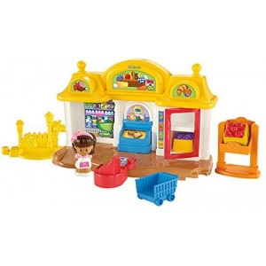 Fisher-Price Little People Corner Market Playset
