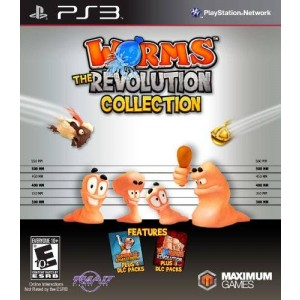Maximum Games Worms Revolution Collection - PlayStation 3 PS3 Edition