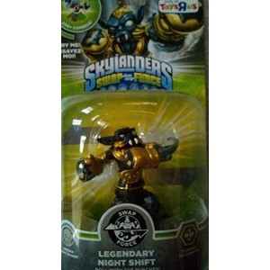 Activision Skylanders SWAP Force Character Legendary Night Shift