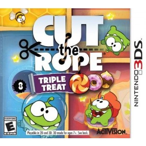 Activision Cut The Rope: Triple Treat - Nintendo 3DS