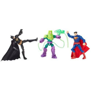 Mattel DC Comics Total Heroes Battle in a Box Figure (3-Pack)