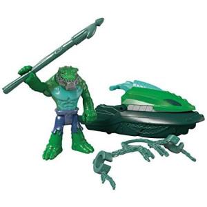 Fisher-Price Imaginext DC Super Friends K. Croc and Swamp Ski Action Figure