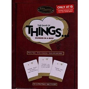 Patch Products Inc. The Game of Things.. Humor in a Box! 10th Anniversary Limited Edition Wood Book Collection