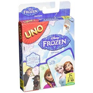 Mattel Disney Frozen UNO Card Game