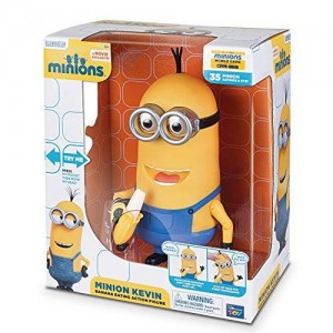 Despicable Me Minions Kevin Banana Eating Action Figure